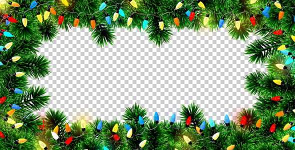 Christmas Lights Overlay Png.Christmas Lights Frame