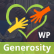 Generosity - Charity Non-profit WordPress Theme - ThemeForest Item for Sale