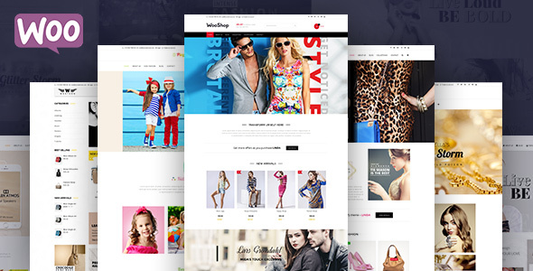 Woo Shop – Multipurpose woocommerce Shop Theme