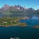 Aerial Footage Beautiful Nature Norway. - VideoHive Item for Sale