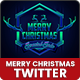 Merry Christmas Twitter Headers - 09 PSD