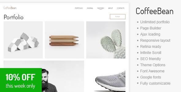 CoffeeBean - Easy & Simple Portfolio for Freelancers, Studios and Photographers - Portfolio Creative