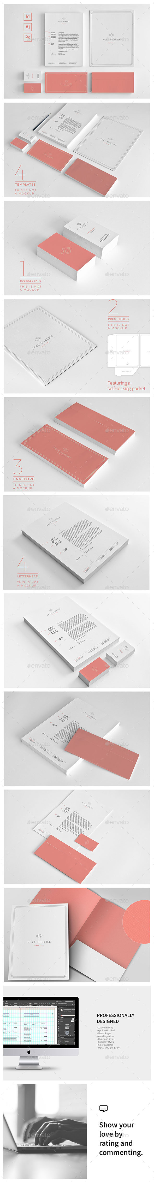Stationery Corporate Identity 008 - Stationery Print Templates