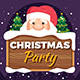 Christmas Party Flyer v2 - GraphicRiver Item for Sale