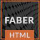 Faber-One Page Resume/Portfolio HTML Template - ThemeForest Item for Sale