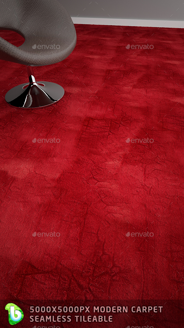 Modern Carpet - Velvet - 3DOcean Item for Sale