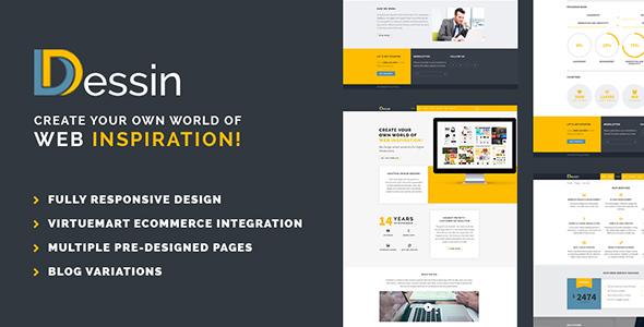 Dessin – Multipurpose Responsive Joomla theme