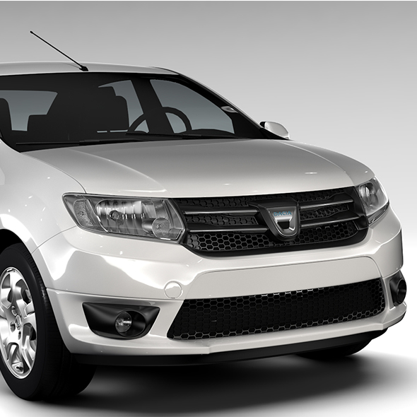 Dacia Logan 2015 - 3DOcean Item for Sale