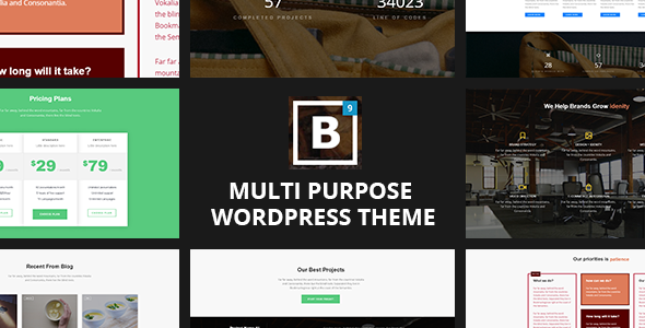 BIG Border - Responsive Multi-Purpose WordPress Theme