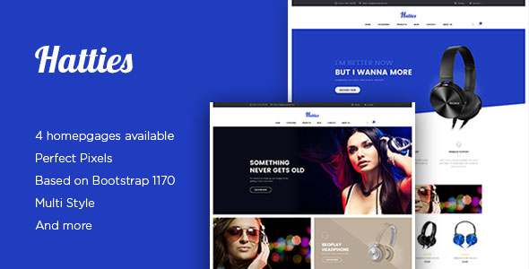Ap Hatties – eCommerce PSD Template