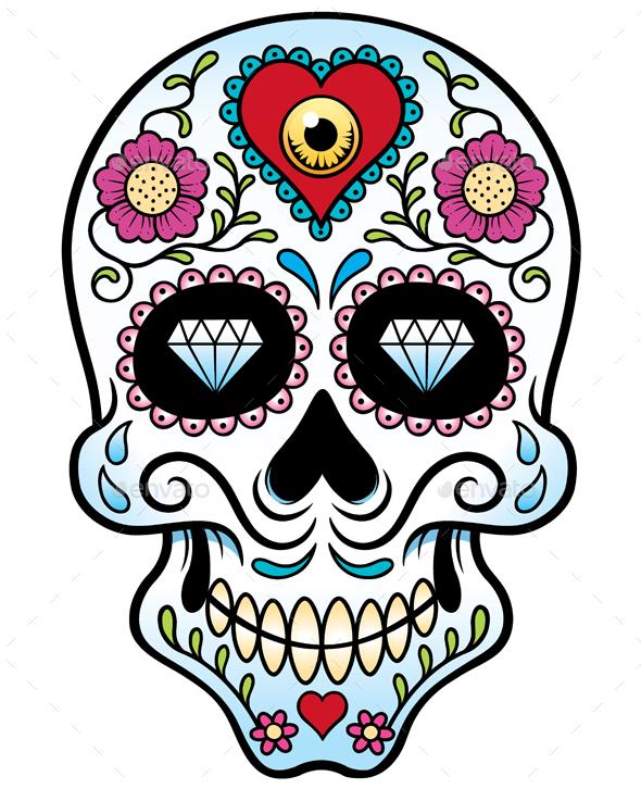 Skull - Characters Vectors
