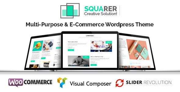Squarer Multi-Purpose WordPress Theme - Business Corporate