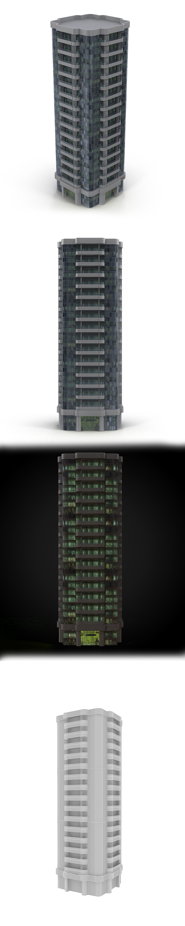 Skyscraper_1 - 3DOcean Item for Sale