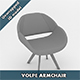 Volpe Armchair - 3DOcean Item for Sale