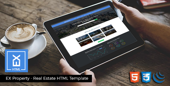 EX Properties – Real Estate HTML Template