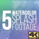 Watercolor Splash 4K - VideoHive Item for Sale