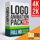 Logo Animation Pack V2 - VideoHive Item for Sale