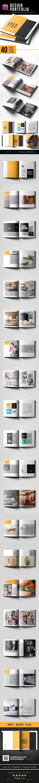 Elegant Portfolio Template - Portfolio Brochures
