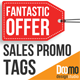 Sales Promo Tags - VideoHive Item for Sale