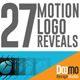 27 Motion Logo Reveals - VideoHive Item for Sale