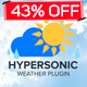 Hypersonic-Weather Plugin - CodeCanyon Item for Sale