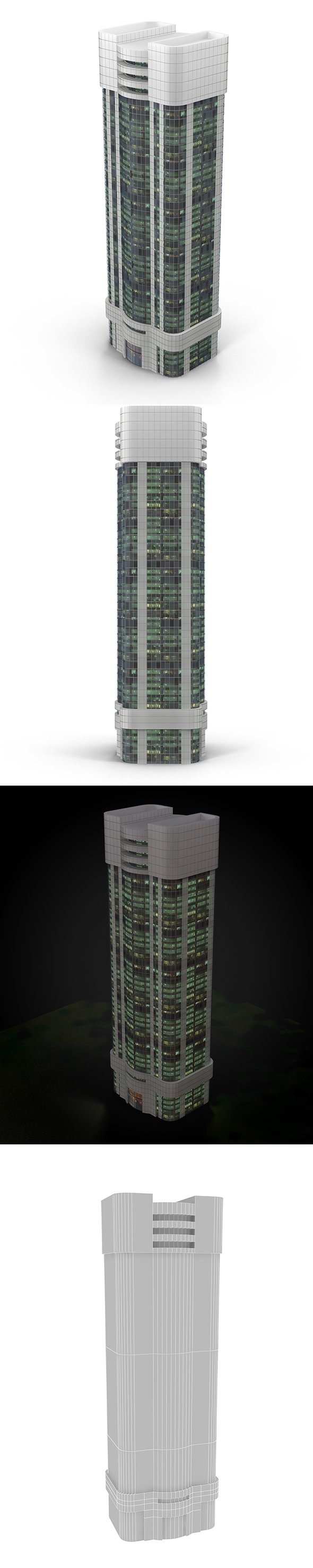 skyscraper_2 - 3DOcean Item for Sale