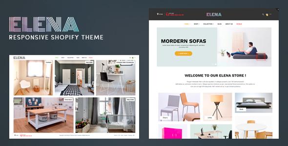 Elena – Responsive Shopify Theme