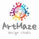 Art Maze Creative Splash Logo - GraphicRiver Item for Sale