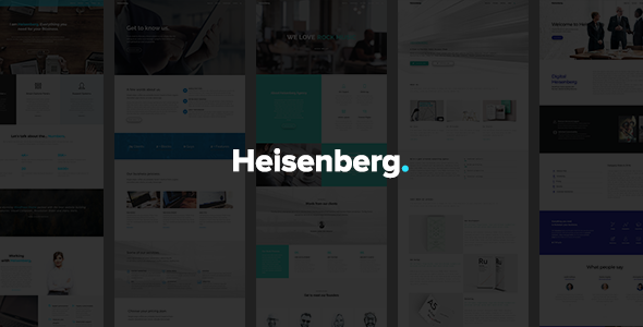 Heisenberg – MultiPurpose WordPress Theme
