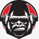 Gorilla Radio Logo Template - GraphicRiver Item for Sale