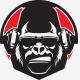 Gorilla Radio Logo Template - GraphicRiver Item for Sale