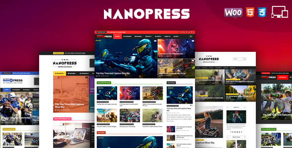 Nanopress - WordPress Responsive Blog & Magazine Theme - News / Editorial Blog / Magazine