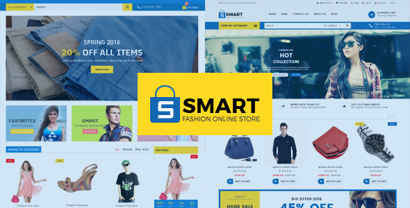 SMART : MULTIPURPOSE E-COMMERCE HTML TEMPLATE