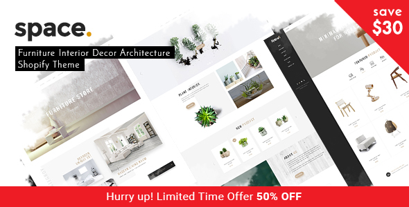 Space – Minimal Furniture Interior Decor Architecture Shopify Theme