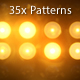 35 Flashlights Patterns Kit Yellow - VideoHive Item for Sale