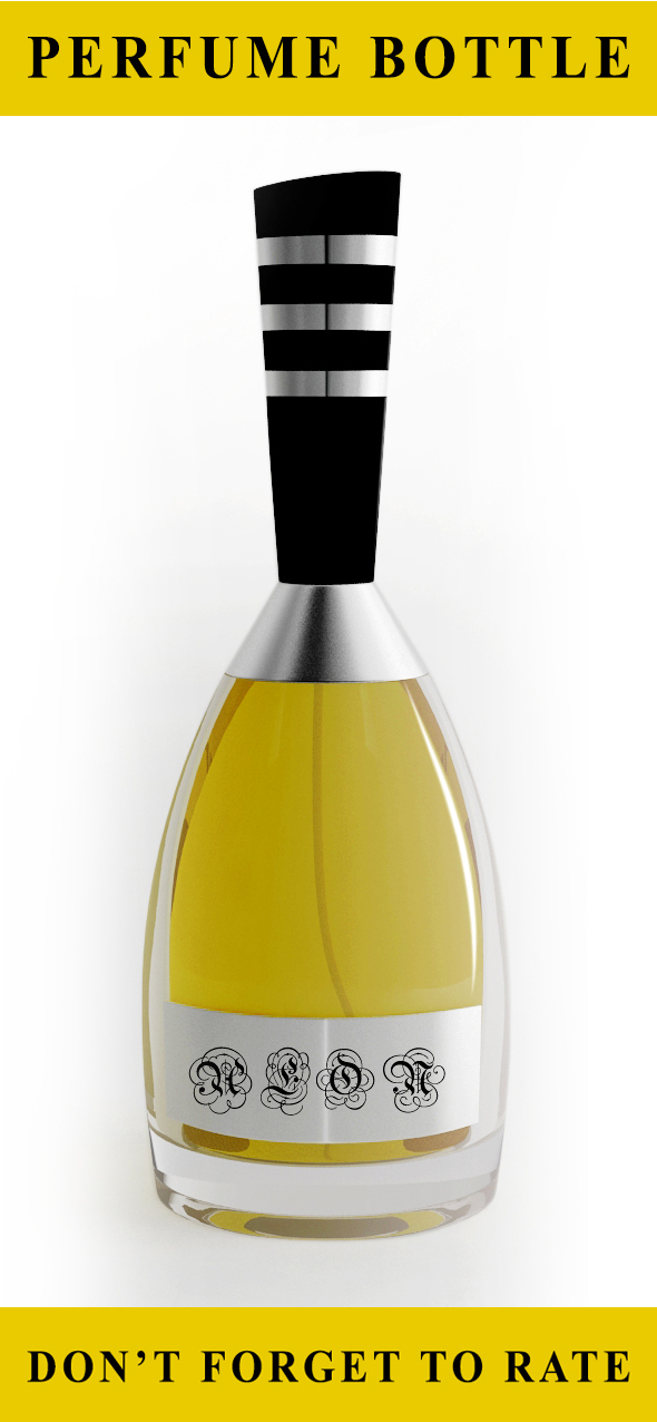 Pefume Bottle (Concept Design) - 3DOcean Item for Sale