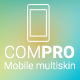 Compro - Mobile Multiskin Template - ThemeForest Item for Sale