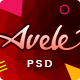 Avele | A Multipurpose PSD Template - ThemeForest Item for Sale