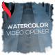 Watercolor Video Opener - VideoHive Item for Sale