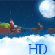 Santa with Cart - VideoHive Item for Sale