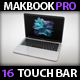 "13"" Laptop Pro Touch Bar Mock Up"