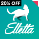 Elletta - Blog News, Calendar & Shop Theme WordPress Nulled