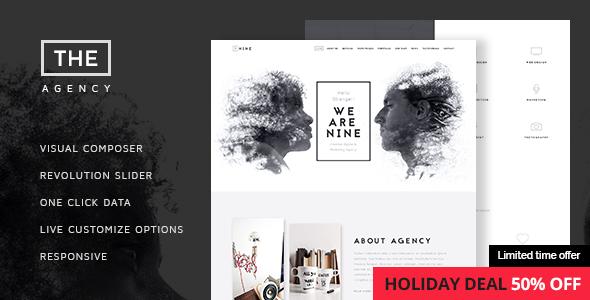 The Agency - Creative One-Page Agency Theme - Creative WordPress