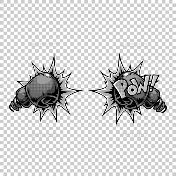 Vector Comics Icon - Objects Vectors