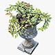 Flower Pot Exterior Decoration - 3DOcean Item for Sale