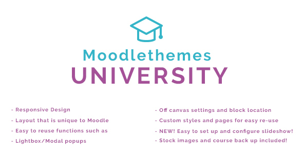 University – Responsive Moodle Theme
