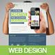 Web Design Flyer - GraphicRiver Item for Sale