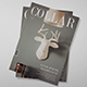 Collar Magazine Template