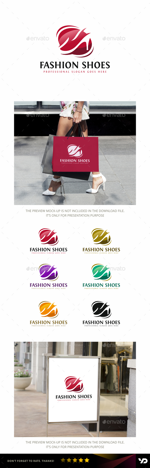 Shoes - Objects Logo Templates