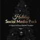 Holiday Social Media Pack vol.2 - GraphicRiver Item for Sale